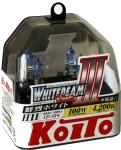 Лампа высокотемпературная Whitebeam, комплектH11 12V 55W (100W) пластиковая упаковка- 2 шт.. KOITO (P0750W)