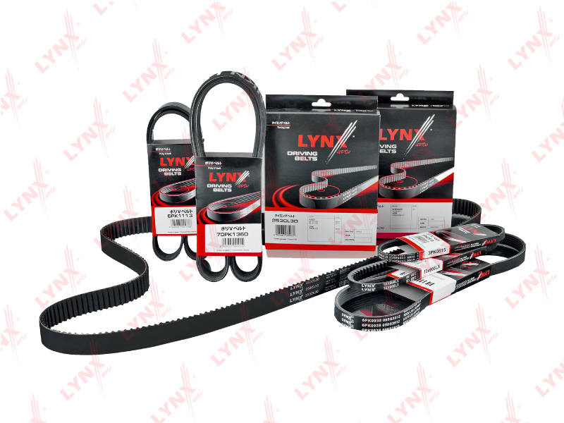 10X1050LX Ремень клиновой LYNX, шт. (10X1050LX)