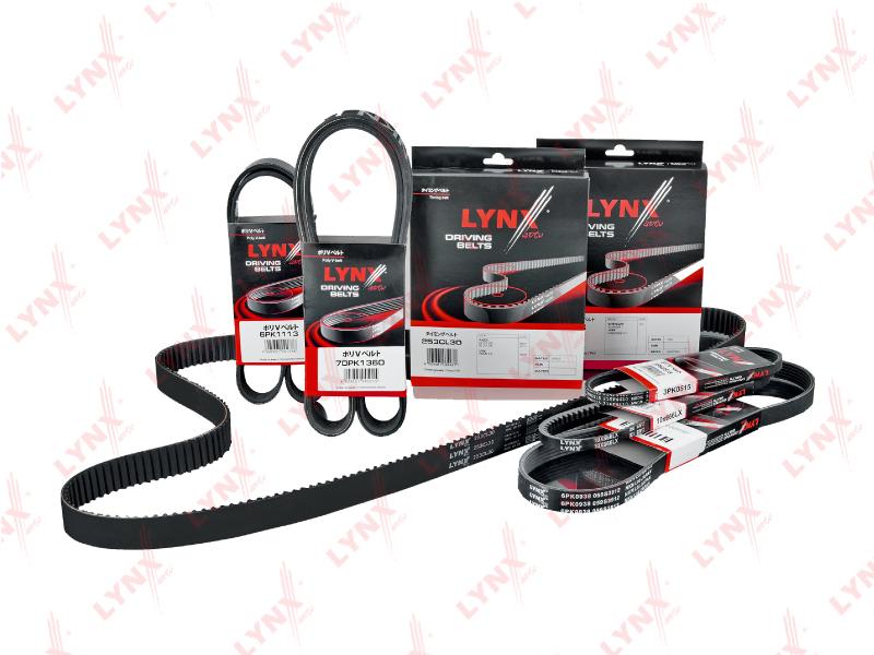 10X1250LX Ремень клиновой LYNX, шт. (10X1250LX)