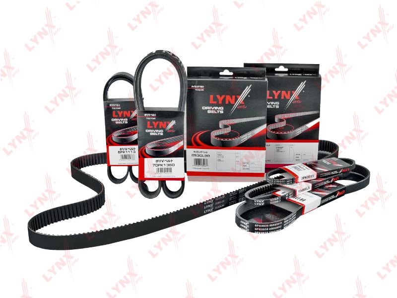 10X750LX Ремень клиновой LYNX, шт. (10X750LX)