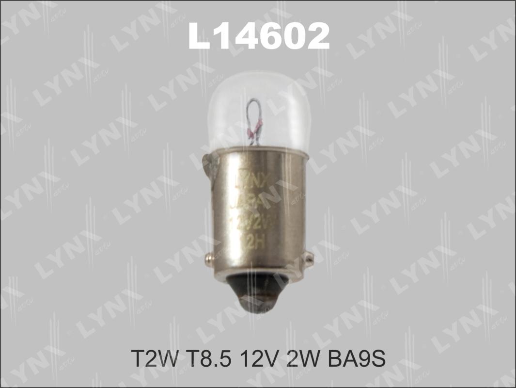 14602 T2W T8.5 12V 2W BA9S Лампа автом. LYNX, шт. (L14602)