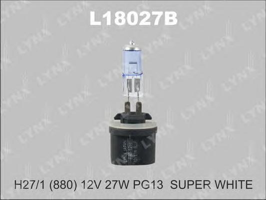 18027B 880 12V27W PG13 (C:31.8) Лампа автом. LYNX, шт. (L18027B)