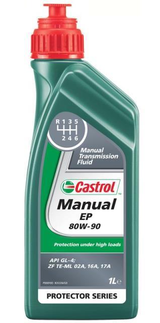 Castrol Manual EP 80W90, 1L . GL-4 трансмиссионная жидкость, шт. Castrol (15032B)