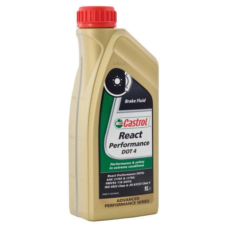 Жидкость тормозная dot 4,  React Performance , 1л. Castrol (15037E)
