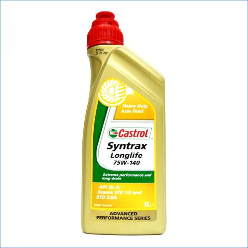 Castrol Syntrax Longlife 75w-140,1L (трансмиссионное масло), шт. Castrol (15009B)