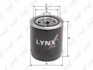 1030 LC Фильтр масляный LYNX, шт. (LC-1030)