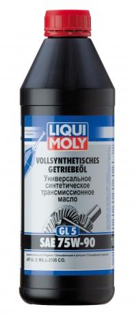 Синт.тр.масло Vollsynth.Getrieb. 75W-90 (GL-5) (1л), шт. Liqui moly (1950)