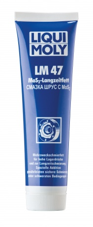 Смазка ШРУС с дисульфидом молибденаLM 47 Langzeitfett + MoS2 (0,1кг), шт. Liqui moly (1987)