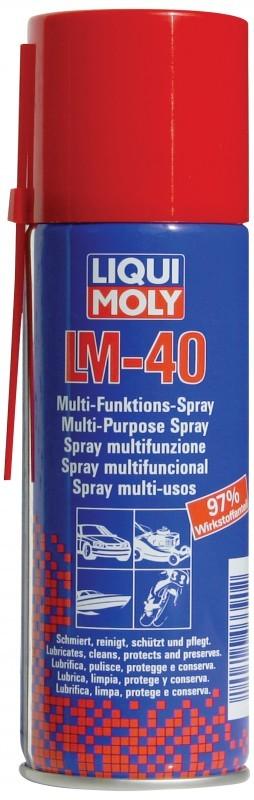 Универс.ср-во LM 40 Multi-Funktions-Spray (0,2л), шт. Liqui moly (8048)