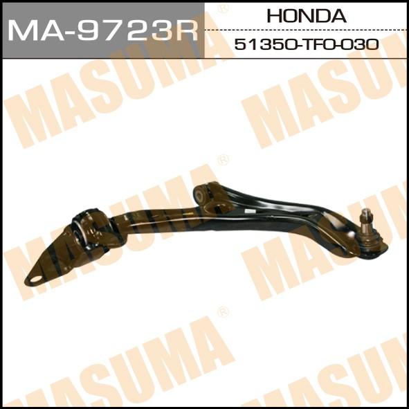 Рычаг нижний  Masuma  front low JAZZ (R) (1/2). (MA-9723R)