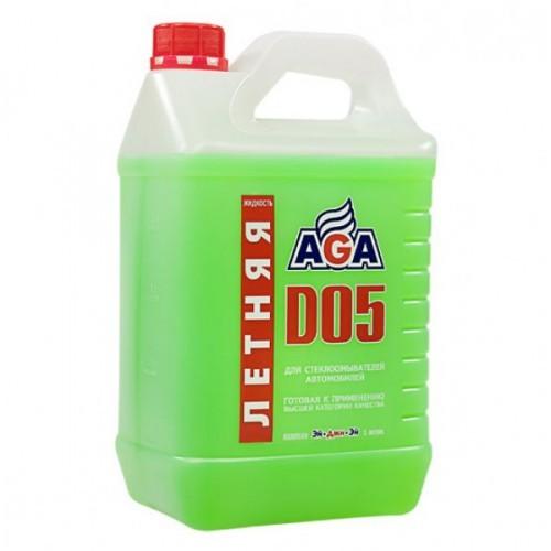 Летняя жидкость для стеклоомывателей автомобилей  D05 , (готовая к применению) AGA WINDSHIELD WASHE. (AGA110D)