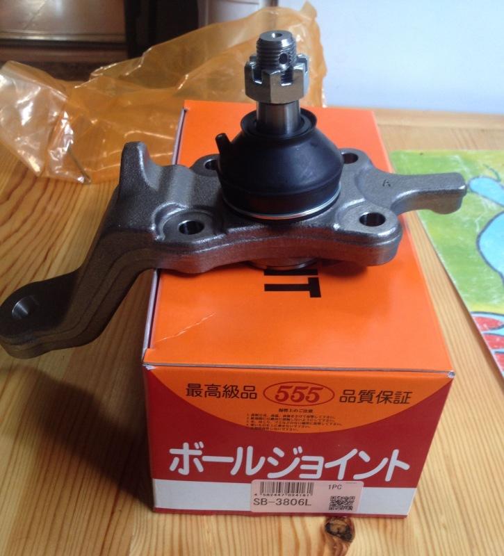 Опора шаровая. 555 (SB-3806L)