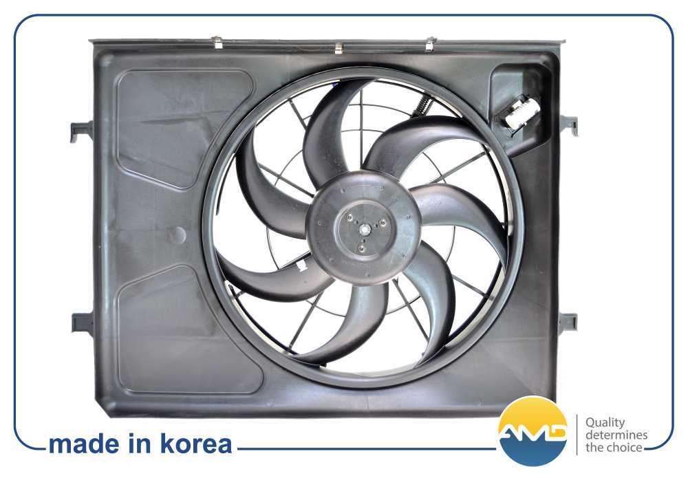 Вентилятор радиатора охлаждения. AMD (AMD.FCU15)