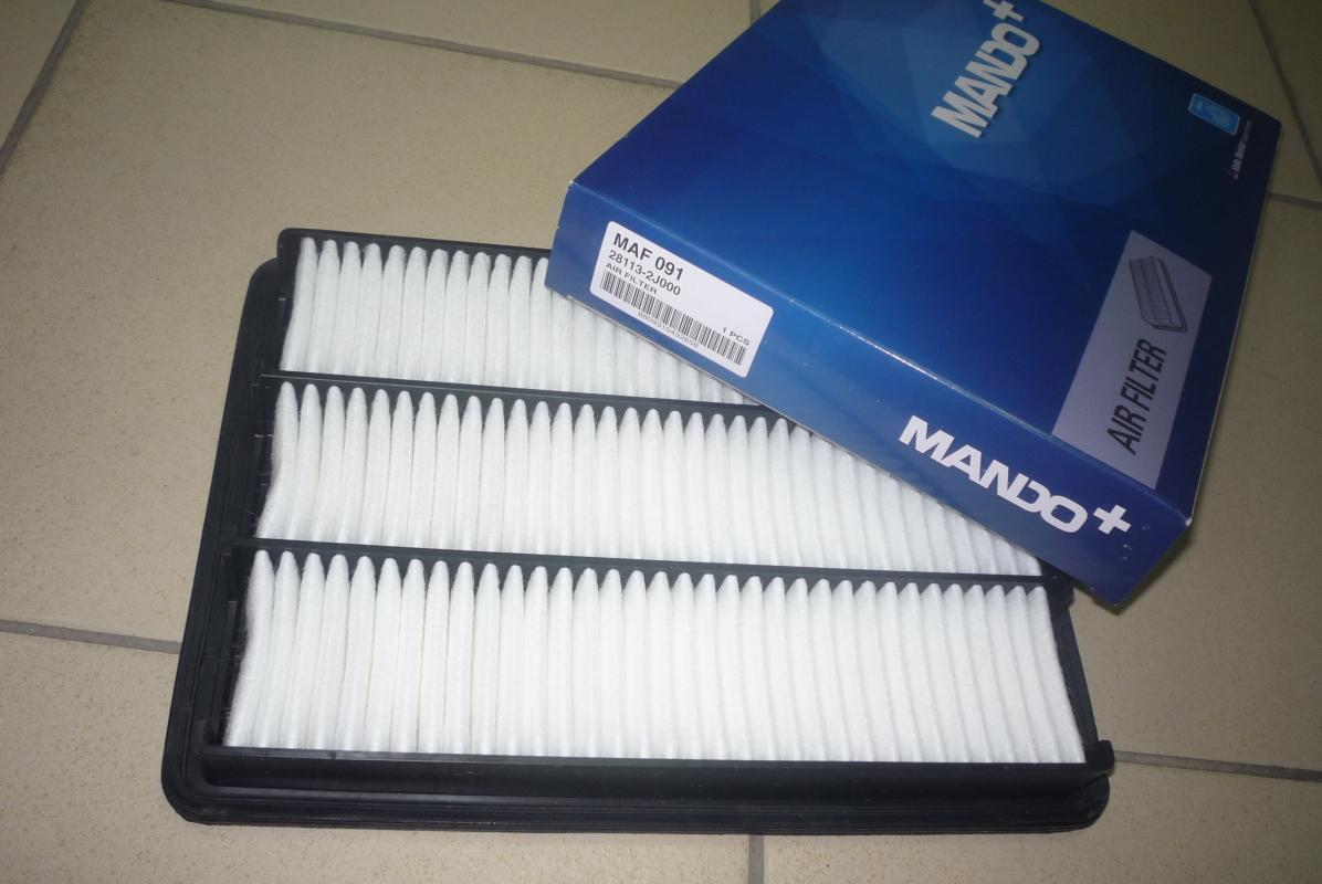 Фильтр воздушный MAF091. Mando