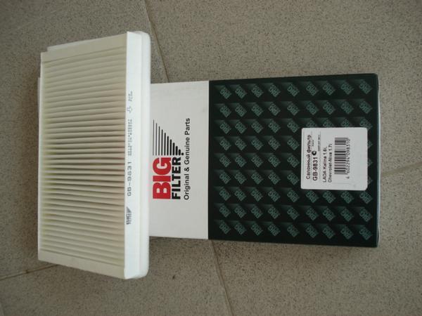 Фильтр салонный GB-9831. Big filter (GB9831)