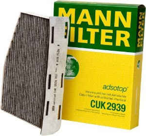 Фильтр салонный (угольный). Mann (CUK2939)