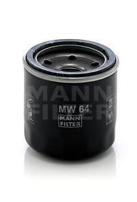 Фильтр масляный. Mann (MW64)