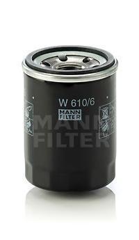 Фильтр масляный. Mann (W610/6)
