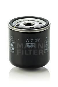 Фильтр масляный. Mann (W712/21)