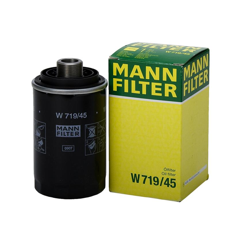 Фильтр масляный. Mann (W719/45)