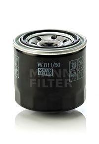 Фильтр масляный. Mann (W811/80)