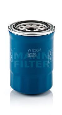 Фильтр масляный. Mann (W830/3)