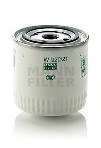 Фильтр масляный. Mann (W920/21)
