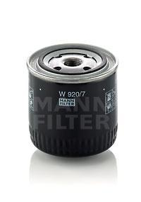 Фильтр масляный. Mann (W920/7)