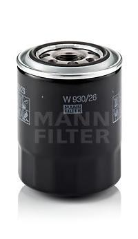 Фильтр масляный. Mann (W930/26)