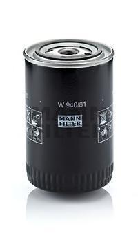Фильтр масляный. Mann (W940/81)