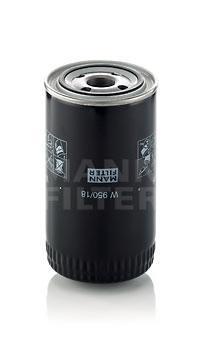Фильтр масляный. Mann (W950/18)