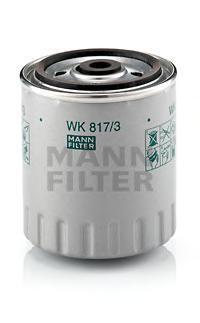 Фильтр топливный. Mann (WK817/3X)