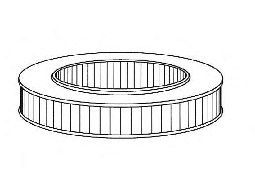 Воздушный фильтр (Лада 01-10 (карб), Нива). Bosch (1457432108)