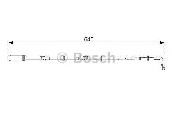 СИГН. КОНТАКТ ИЗНОСА ПОКР.. Bosch (1987473045)