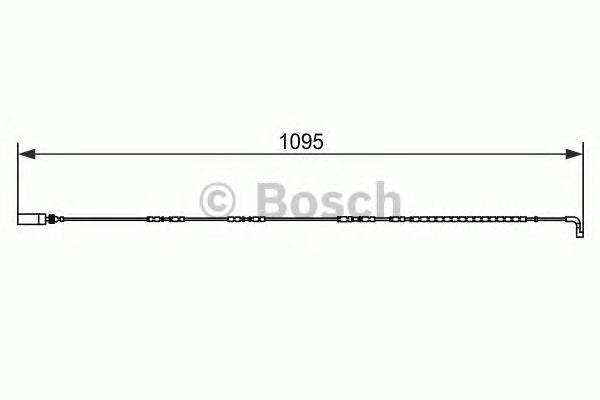 ДАТЧИК ИЗНОСА ТОРМ.КОЛОДКИ. Bosch (1987473069)