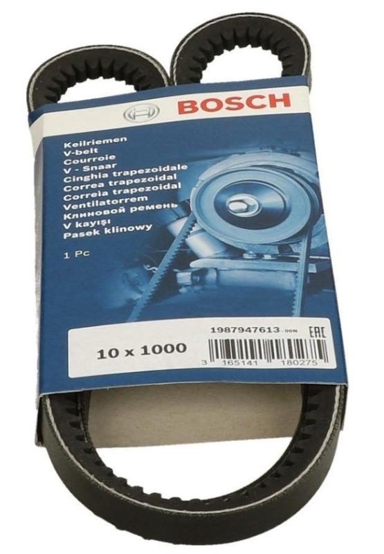 КЛИНОВОЙ РЕМЕНЬ 10Х1000. Bosch (1987947613)