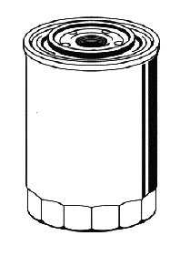 МАСЛЯНЫЙ ФИЛЬТР (VIC C-932) P 2058 CHEVROLET, DAEWOO, DAIHATSU, SUBARU, SUZUKI. Bosch (0986452058)