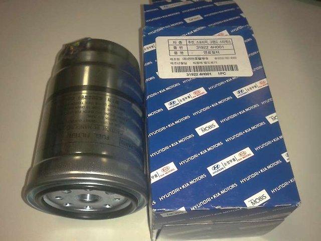 Фильтр топливный (картридж). HYUNDAI-KIA (319224H001)