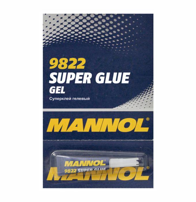 MANNOL Суперклей гелевый суперклей / GEL Super Glue (3гр.)(12шт. / уп.). MANNOL (2457)