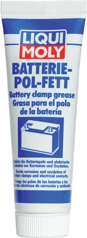 LiquiMoly Batterie-Pol-Fett 0.05KG_смазка для электроконтактов. Liqui moly (7643)