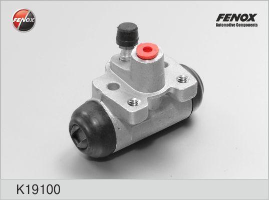 Цилиндр колесный барабанного тормоза. FENOX (K19100)