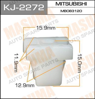 Покер пластм.крепежный  Masuma  2272-KJ (уп.50шт). (KJ-2272)
