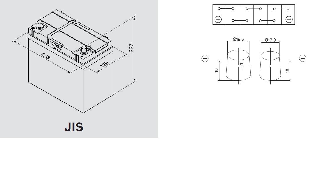 Аккумулятор BOSCH Silver S4 АЗИЯ (S4 023), 45 Ач, 330 А, 238x129x227 мм. прям. (0092S40230)