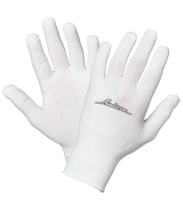 Перчатки нейлоновые (без покрытия). AIRLINE (AWG-NS-12)
