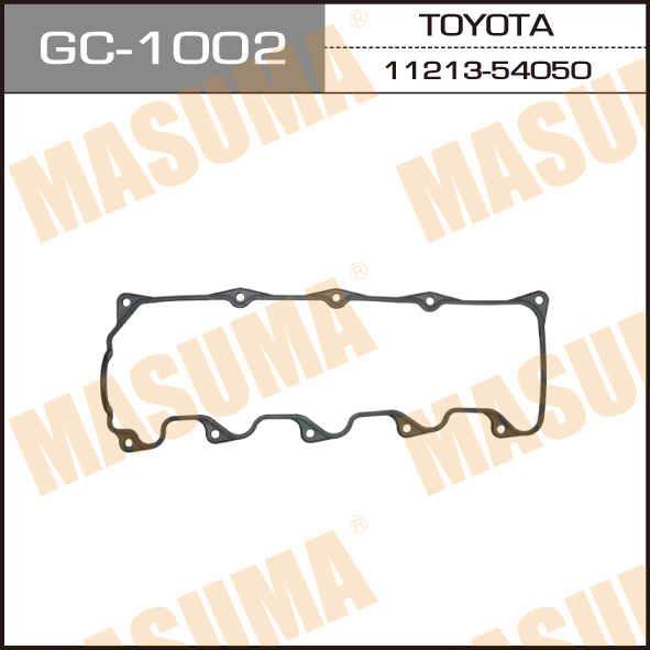 Прокладка клапанной крышки MASUMA 2/3/5L.2LTE.LX100.LS151.LH18#. (GC-1002)