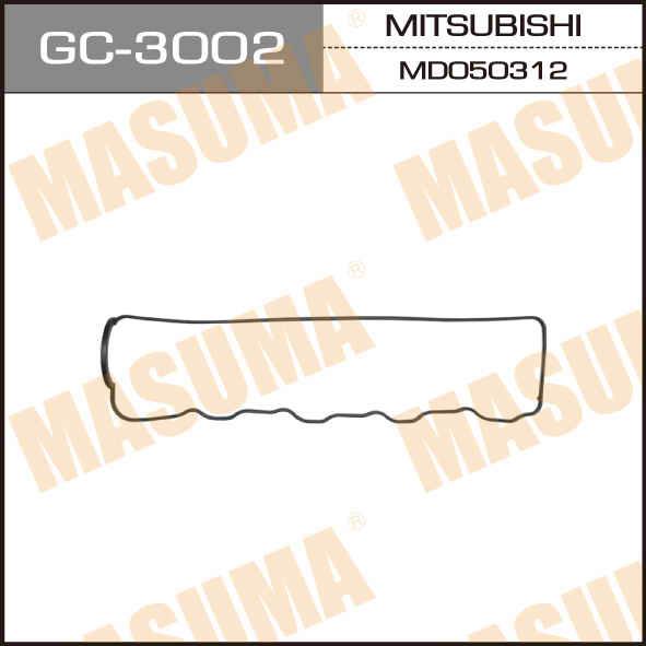 Прокладка клапанной крышки MASUMA PAJERO.DELICA.4D56.4D56T.4D65T. (GC-3002)
