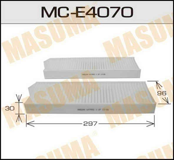 Воздушный фильтр Салонный АС-  Masuma  (1/40) PEUGEOT/ 3008/ V1600, V2000 09-. (MC-E4070)