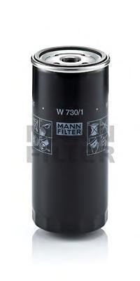 Фильтр масляный. Mann (W730/1)
