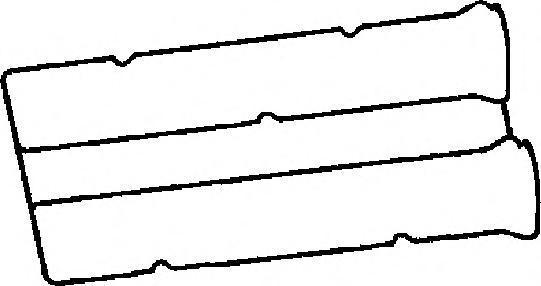 Прокладка крышки ГБЦ. Corteco (440098P)