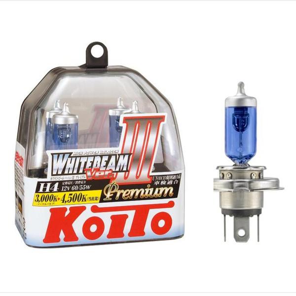 Лампа высокотемпературная Koito Whitebeam Premium комплект 2 шт.. (P0744W)